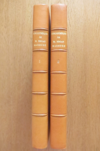 Catalogue de la bibliothèque de Monsieur Edgar Mareuse