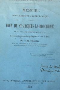 La Tour Saint Jacques la Boucherie