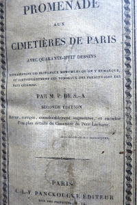 Promenade aux cimetières de Paris