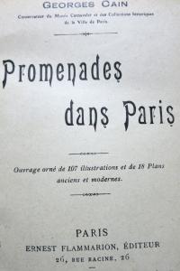 Promenades dans Paris