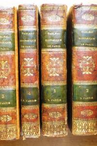 Tableau historique et pittoresque de Paris. 2e édition avec Atlas.