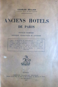 Anciens hôtels de Paris